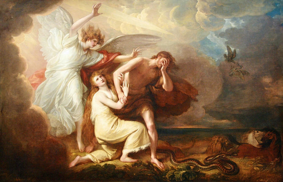 wests-the-expulsion-of-adam-and-eve-from-paradise-cora-wandel